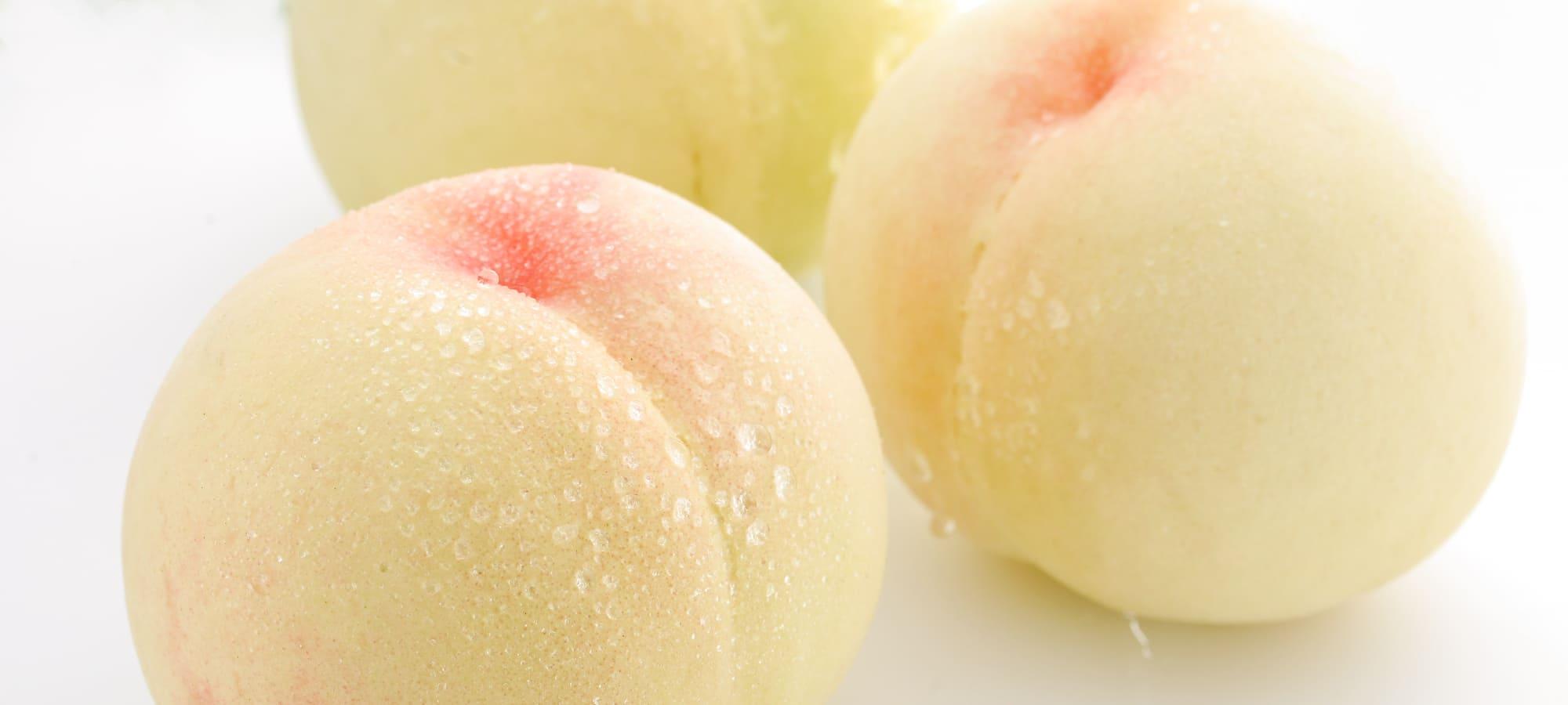 白桃の写真